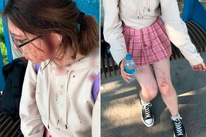Алматы облысында екі әйел оқушы қызды соққыға жықты