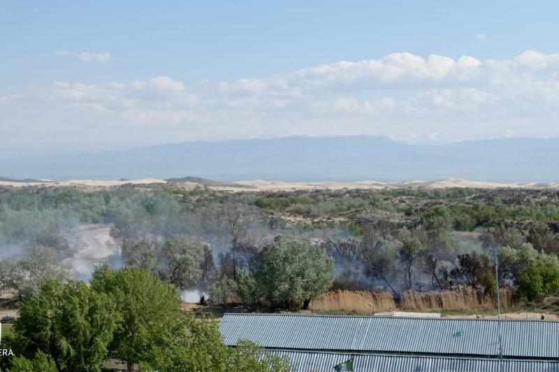 В Восточно-Казахстанской области ликвидировано загорание на площади 15 га