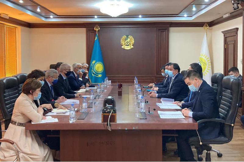 Казахстан и Франция обсудили перспективы сотрудничества в топливно-энергетическом комплексе