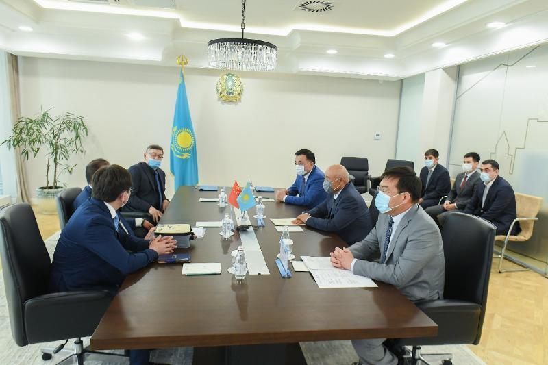 中国投资商将在突厥斯坦州建设两个工厂