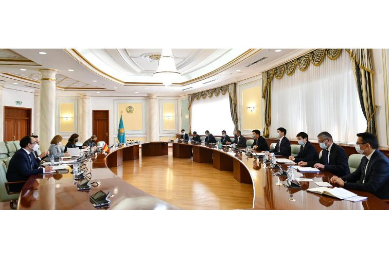 Nur-Sultan hosts political consultations btw Kazakhstan and Spain
