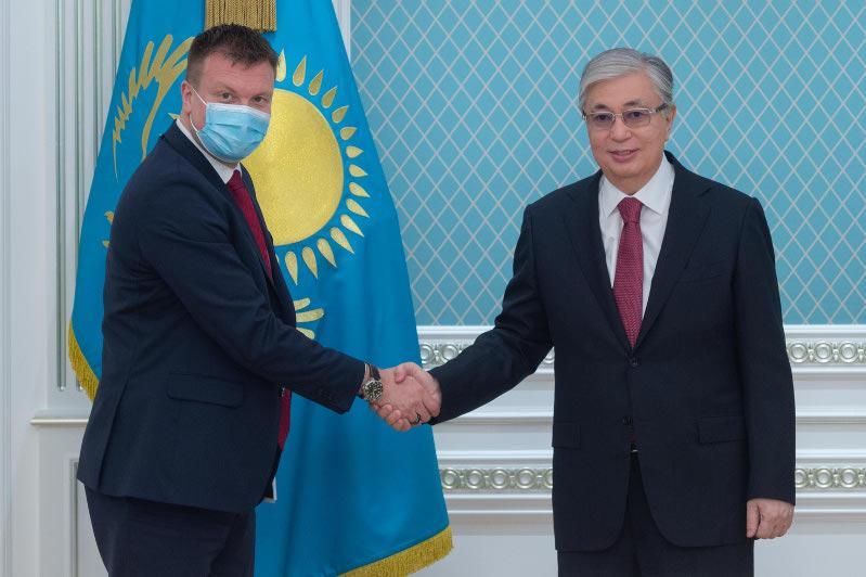 Президент РК принял министра внешней торговли и содействия международному развитию Финляндии