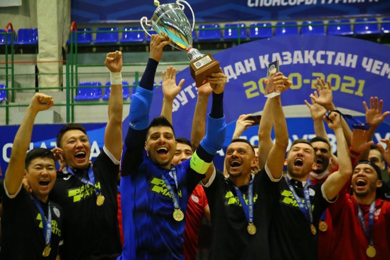 «Кайрат» стал чемпионом Казахстана по футзалу