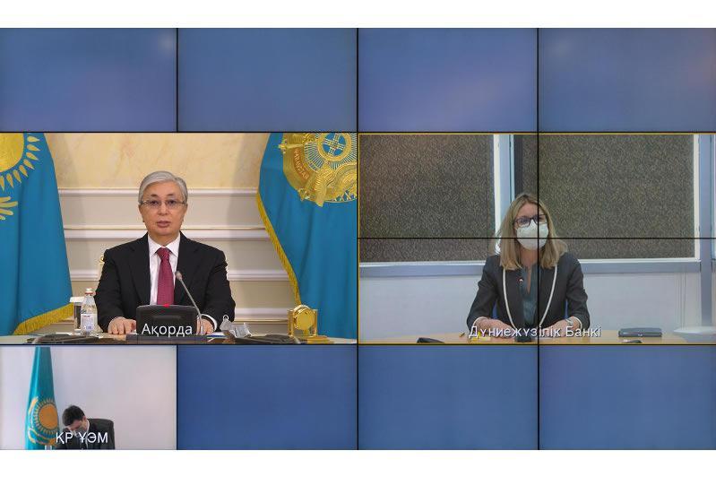 Президент Казахстана провел беседу с вице-президентом Всемирного банка