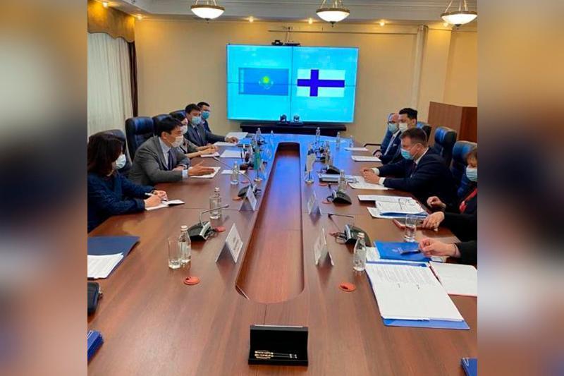 哈萨克斯坦与芬兰在生态领域加强合作
