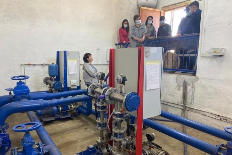 Резервуар Майского группового водопроводавПавлодарской областиполностью очищен