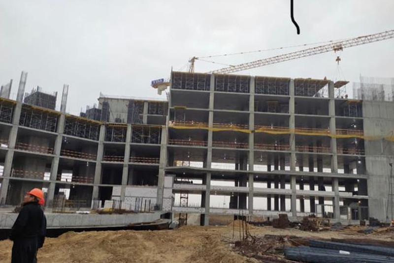 Больницу на 570 коек строят в Туркестане