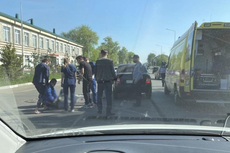 78-летнюю женщину сбили на пешеходном переходе в Петропавловске