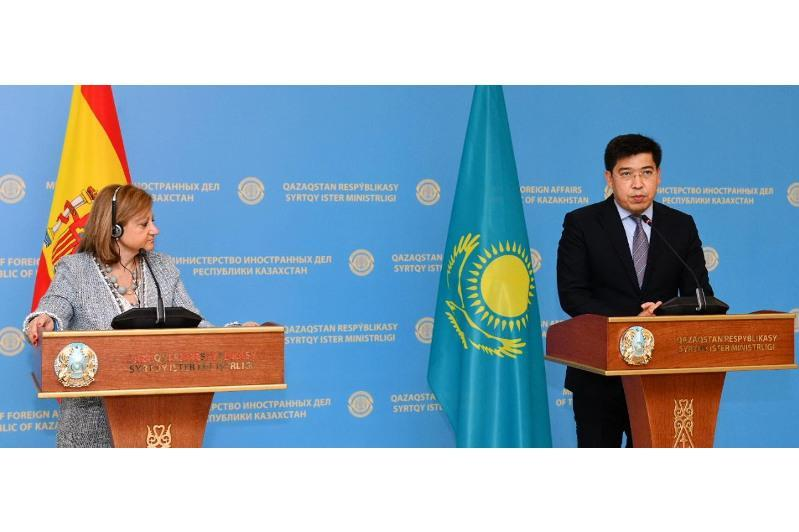 Kazakhstan keen to cooperate with Spain in water resources management