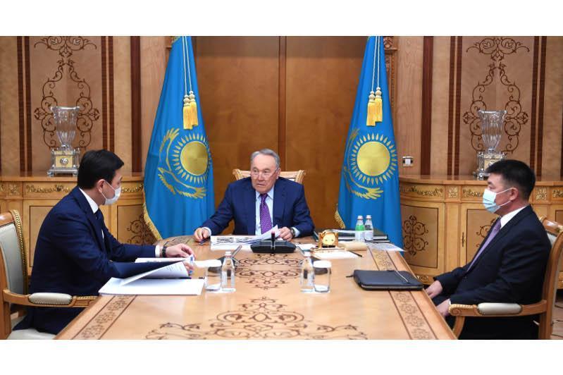 Nursultan Nazarbayev received Nur-Sultan mayor