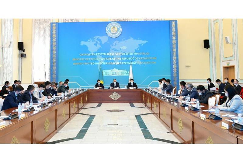 В МИД обсудили ход реализации приоритетов казахстанского председательства в СВМДА