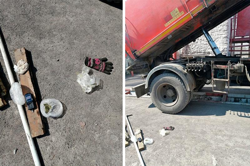 В мусоровозе пытались провезти запрещенные предметы на территорию колонии в Карагандинской области