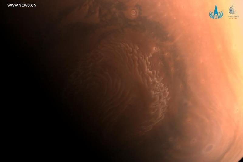 Қытай ғарыш аппараты Марс бетіне сәтті қонды