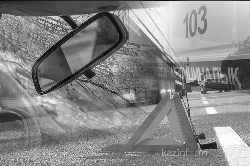 Ақтөбеде жол апаты кезінде велосипед жүргізушісі көз жұмды