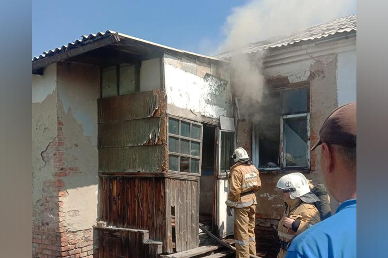 В Восточно-Казахстанской области ликвидирован пожар в жилом доме