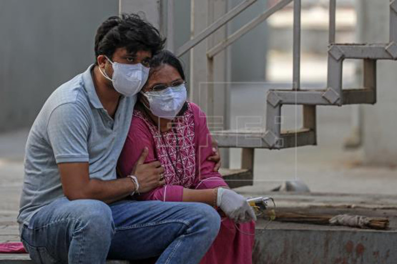 India records 4,000 coronavirus deaths for third straight day