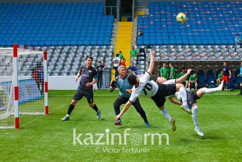В столице разыгрывается Суперкубок Президента РК по любительскому футболу