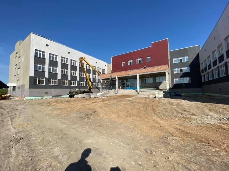 Школу на 900 мест откроют к новому учебному году в Петропавловске