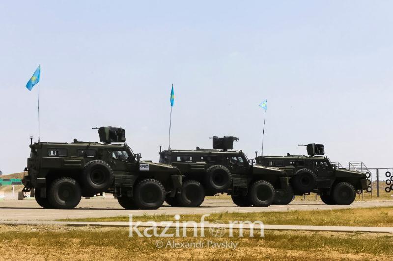 Около 300 казахстанских военнослужащих примут участие в Армейских международных играх