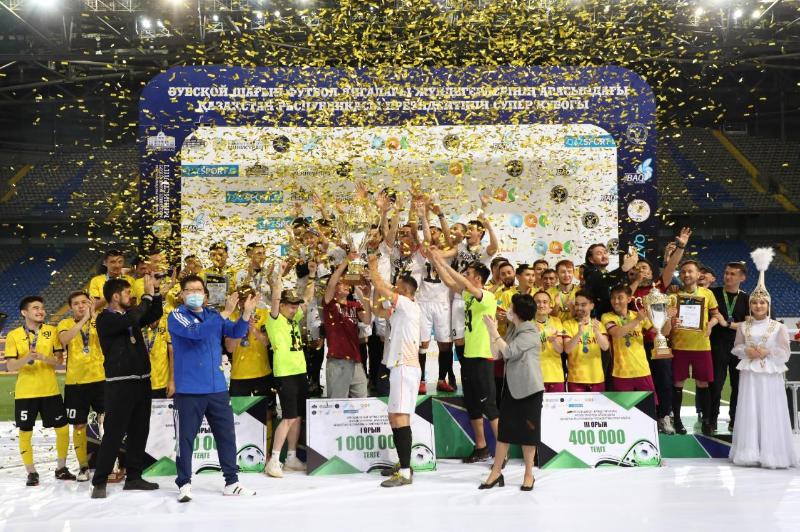«Есіл» командасы шағын футболдан ҚР Президентінің Суперкубогын иеленді