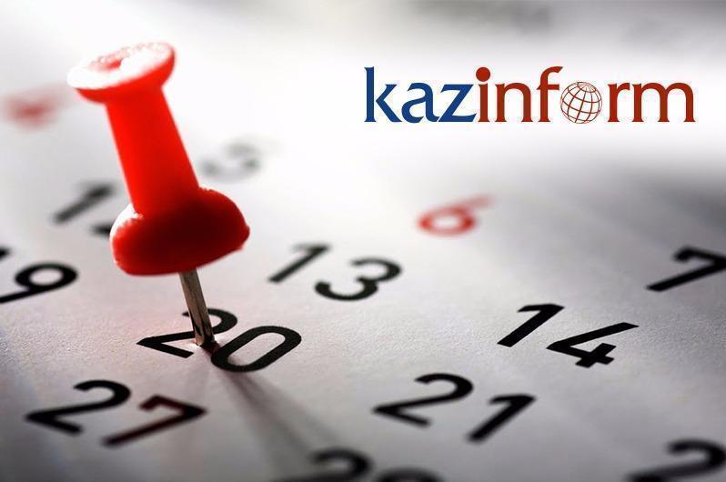 May 17. Kazinform's timeline of major events