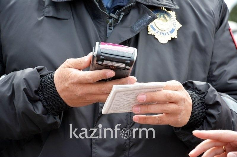 Более 16 тысяч нарушений ПДД зафиксировали за три дня в Казахстане