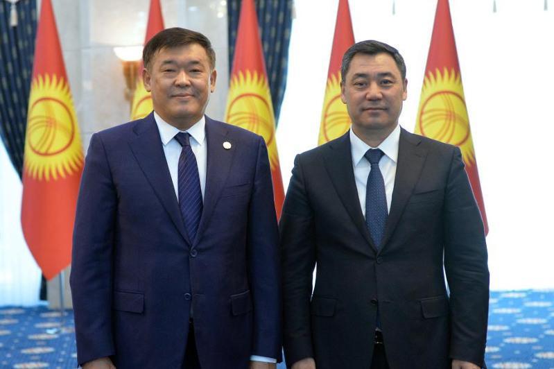 Kazakh ambassador presents credentials to Kyrgyz President Sadyr Japarov