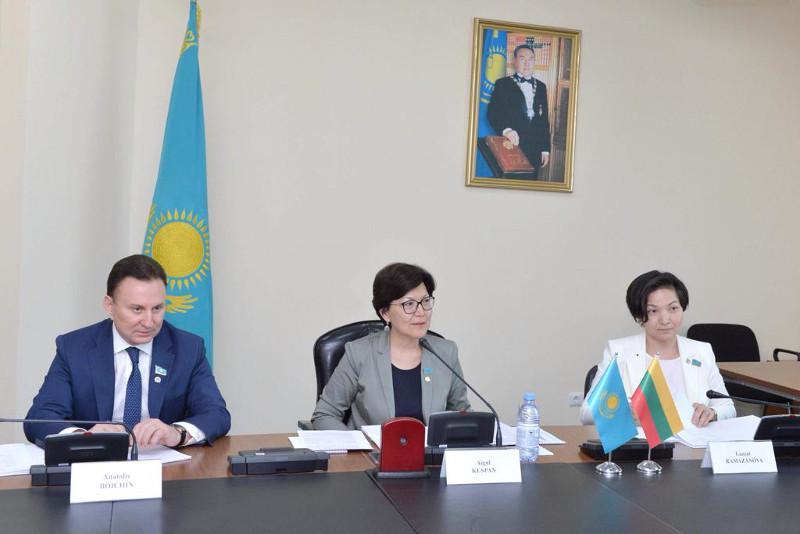 Казахстан укрепляет межпарламентское сотрудничество с Литвой