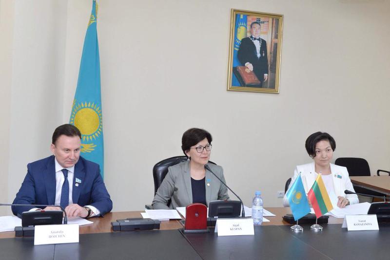 马吉利斯将加强与立陶宛议会间的合作