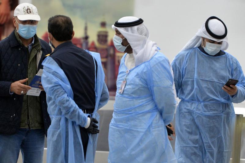 昨日科威特新增828例新冠确诊病例和6例死亡病例
