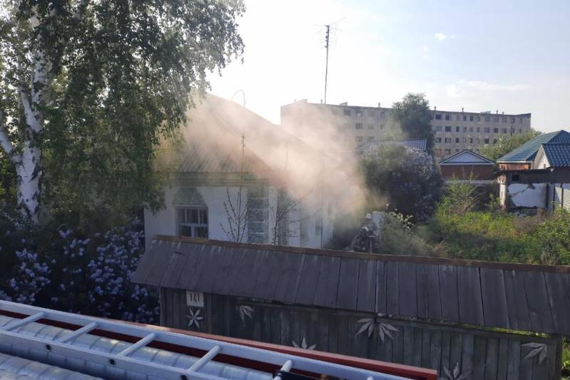 Рудный қаласында жеке үйде болған өрт салдарынан ер адам қаза тапты