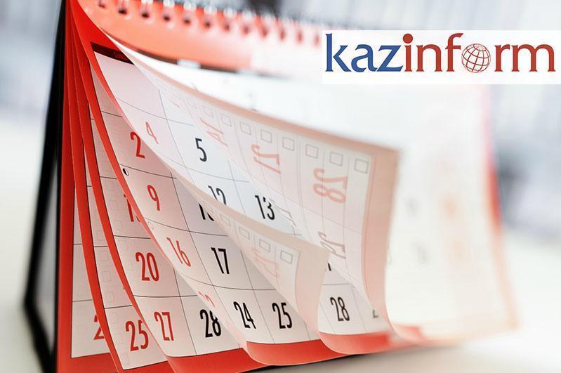 May 18. Kazinform's timeline of major events
