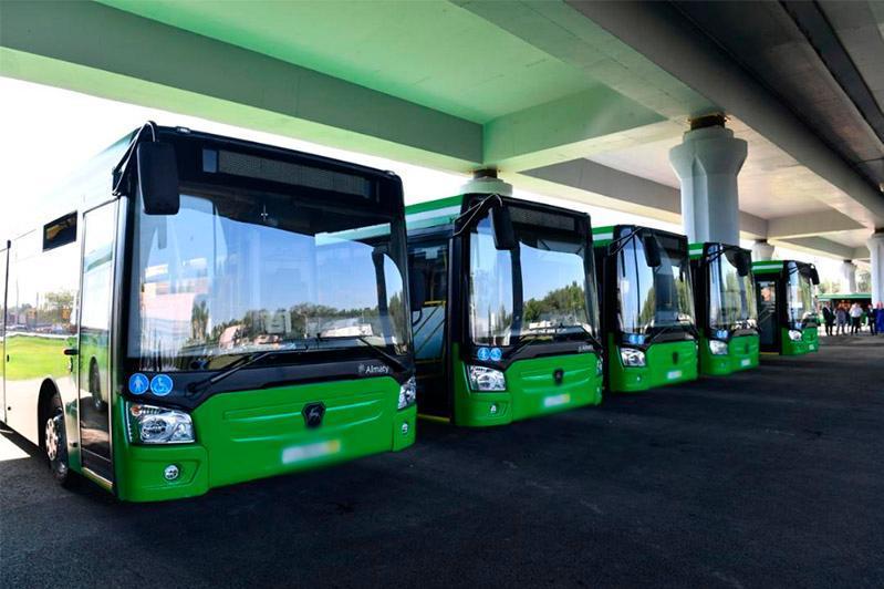 Свыше 600 новых автобусов планируют закупить автопарки в Алматы