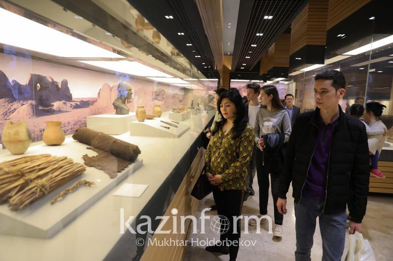 Древнейшие захоронения и достояние нематериальной культуры: как проходит«Ночь музеев» в Казахстане