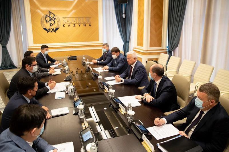 萨特哈利耶夫会见俄罗斯卢克石油公司总裁