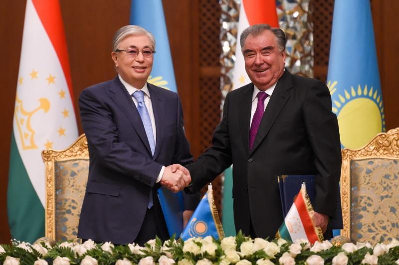 Совместное заявление Касым-Жомарта Токаева и Эмомали Рахмона