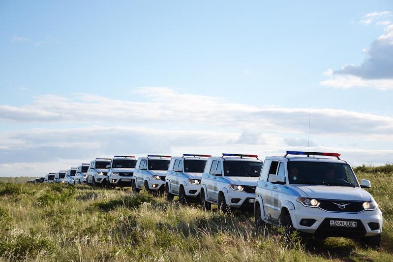 300-километровый марш прошел с водителями столичной бригады Нацгвардии