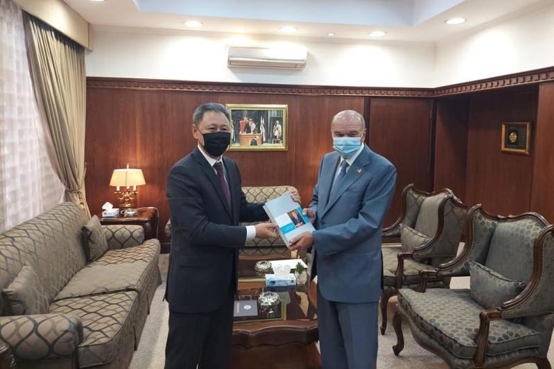В Аммане прошла встреча Посла РК с главой Сената Иордании