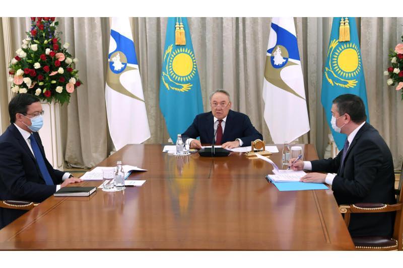 Нұрсұлтан Назарбаев Жоғары Еуразиялық экономикалық кеңестің отырысына қатысты