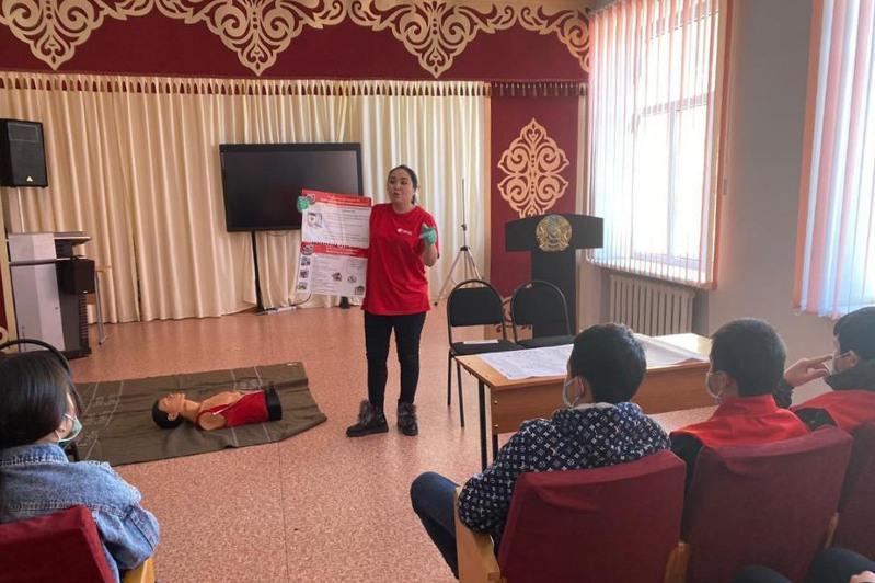 Қарағанды облысында ТЖ кезінде халыққа көмектесетін 130 волонтер оқытылды