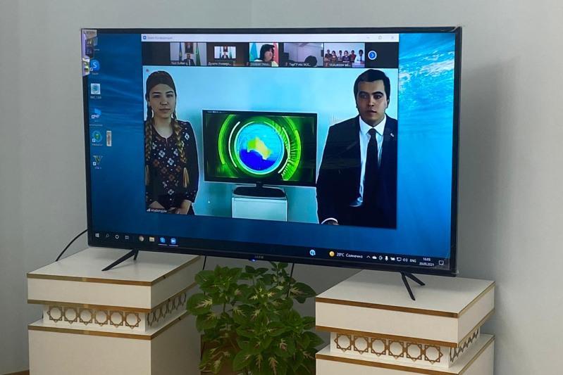Посольство Туркменистана в Казахстане провело мероприятие в честь 140-летия города Ашхабада
