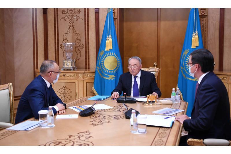 Нұрсұлтан Назарбаев «Қазатомөнеркәсіп» компаниясы басқармасының төрағасын қабылдады