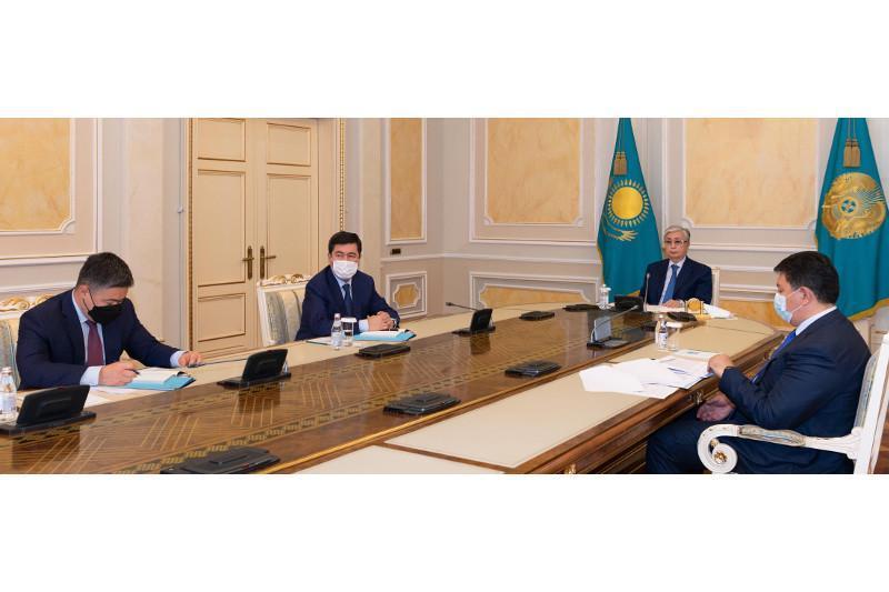 托卡耶夫总统主持召开电能领域发展问题工作会议