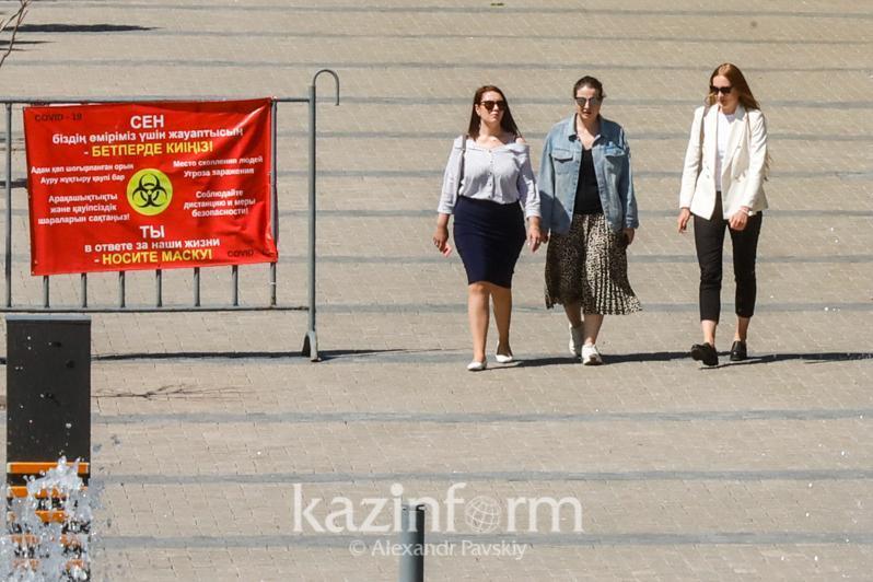 Almaty oblysynda koronavırýs juqtyrǵandar azaıyp keledi