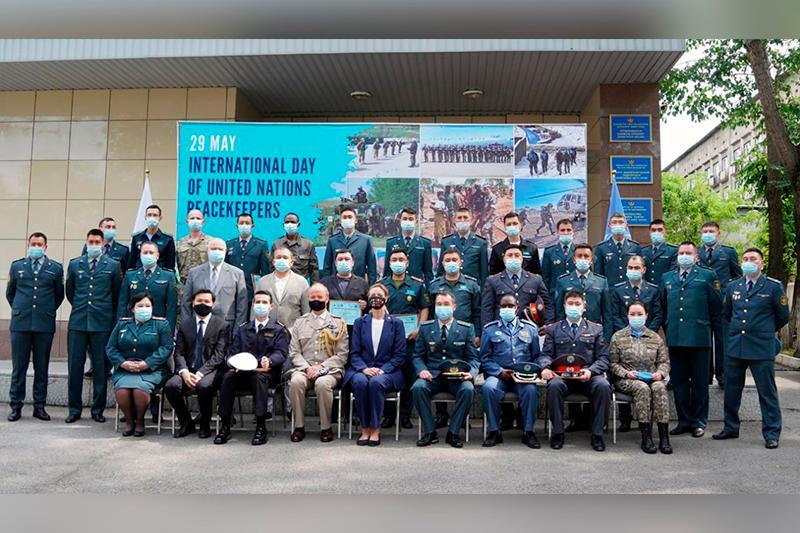 Выпуск штабных офицеров ООН состоялся в Алматы