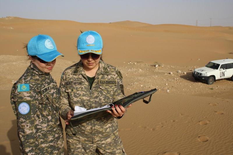 В Казахстане сегодня отмечается Международный день миротворцев ООН