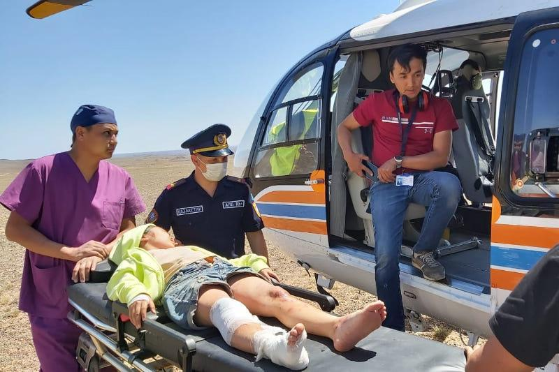 Полицей Шарын шатқалында оқушыны құтқару операциясы қалай өткенін баяндады
