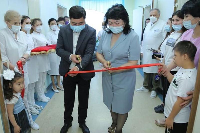 Детский реабилитационный центр открыли в Жезказгане