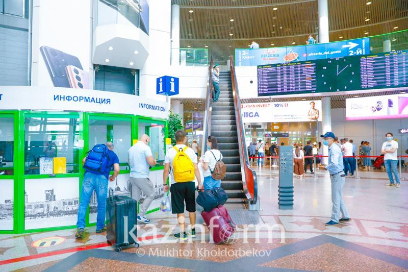 All Kazakhstanis arrive from abroad with COVID-19 tests