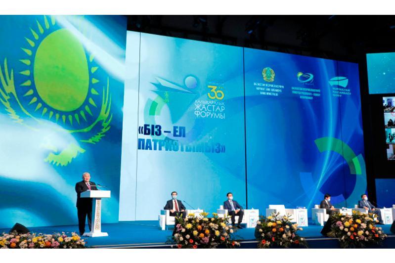 Госсекретарь принял участие в международном молодежном форуме «Біз – ел патриотымыз»